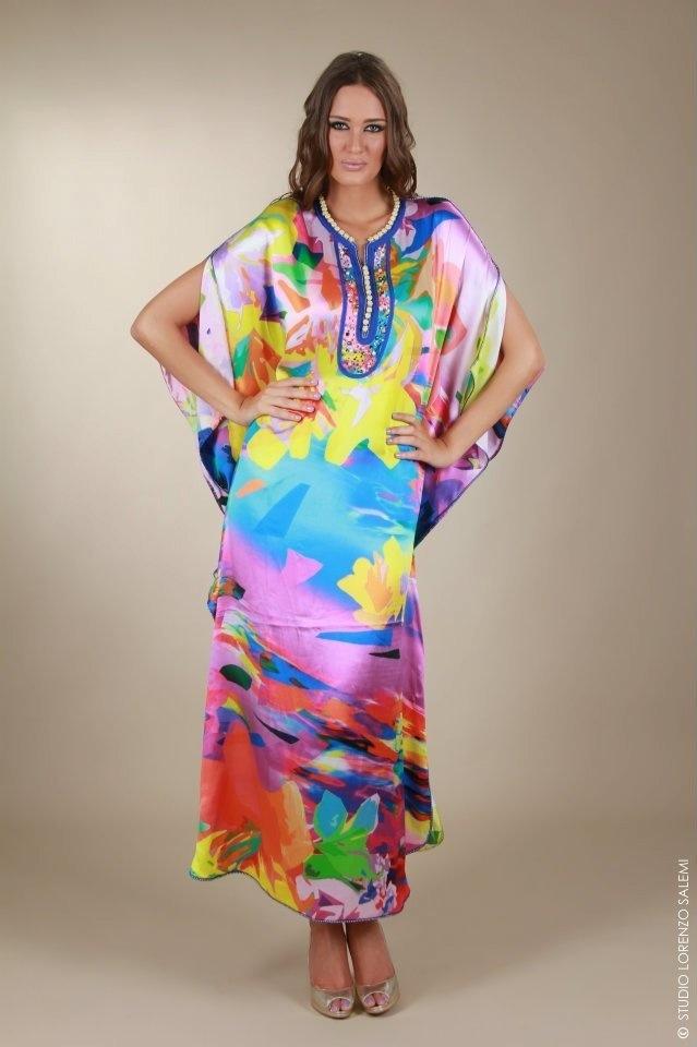 Gandoura Marocaine son nouveau look pour Femme on aime !   Caftan4You
