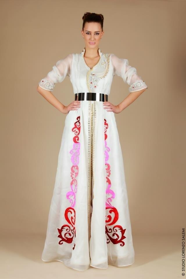 Caftan Mariage Blanc la robe du plus beau jour de ma vie  00ab2078458