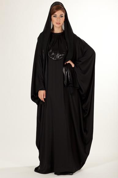 abaya noir ramadan