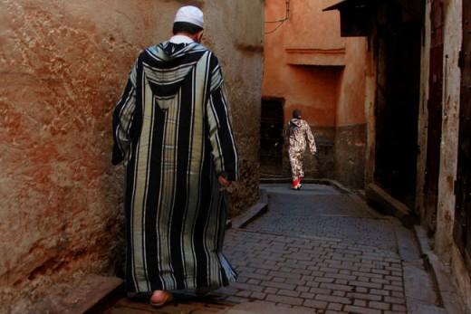 djellaba maroc